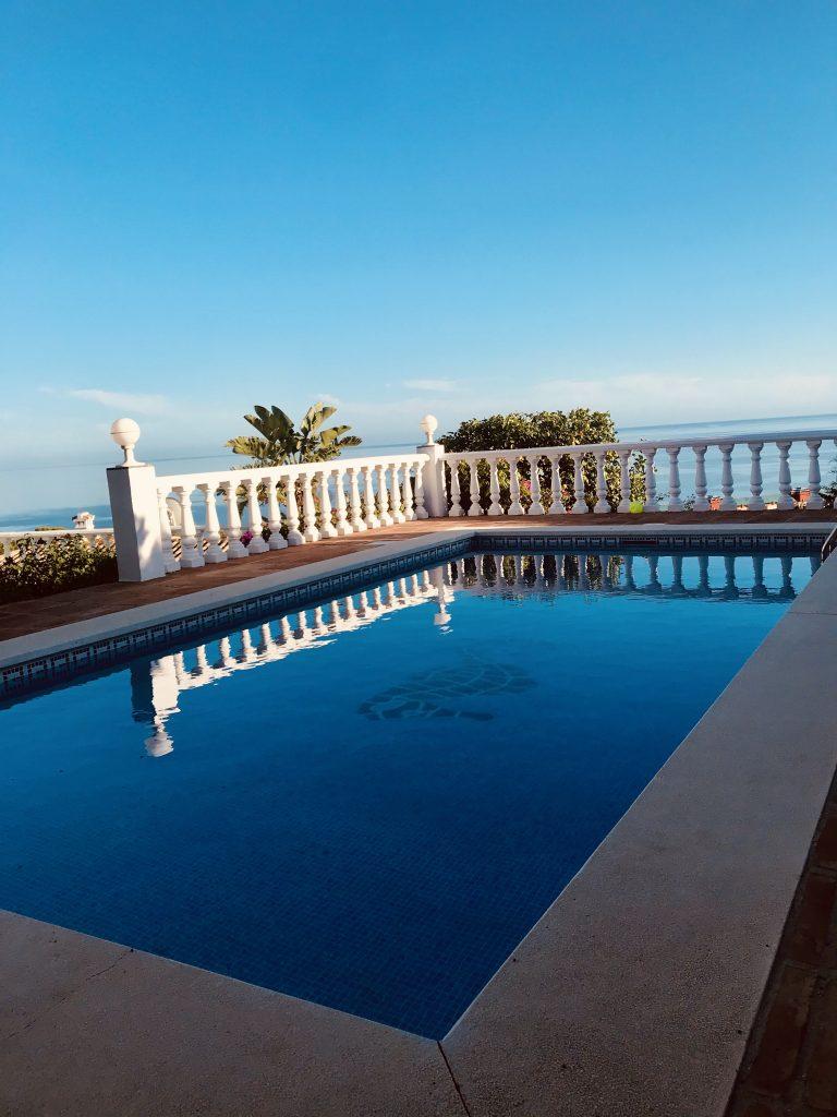 Villa Magica Swimming Pool day time