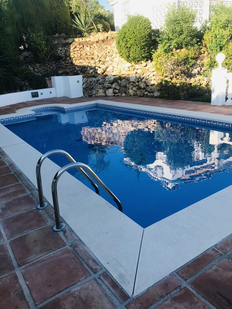 Villa Magica Swimming Pool renovated 2020