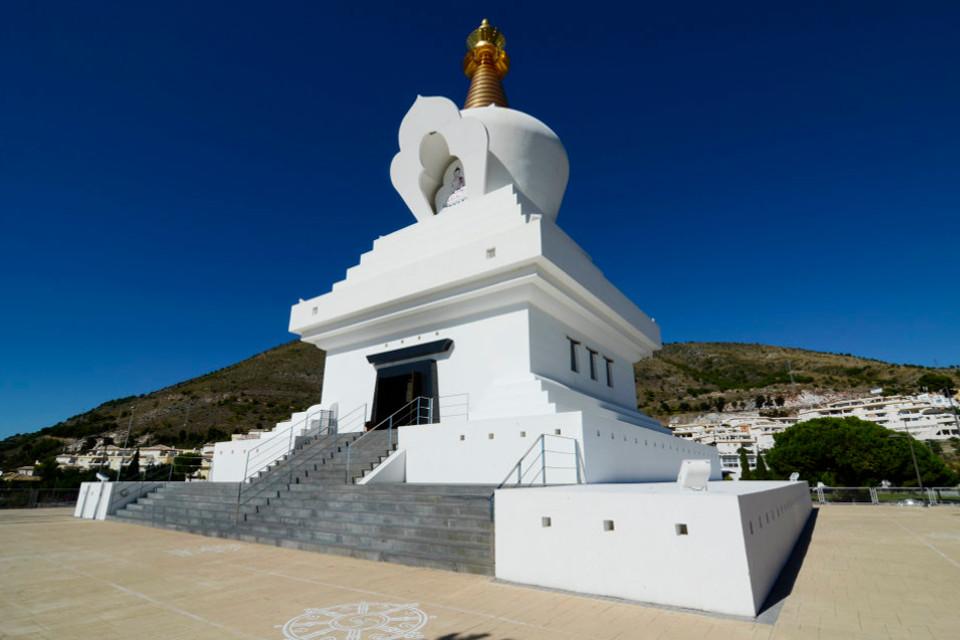 The Buddhist Stupa of Benalmadena