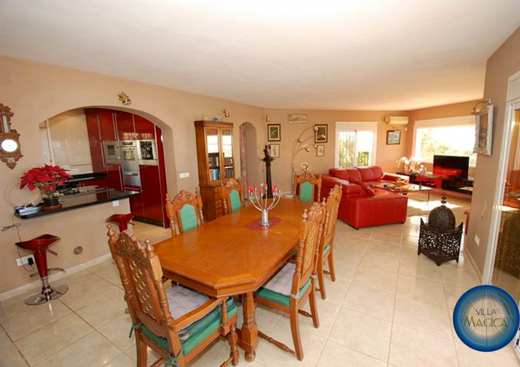Villa Magica Dining Room