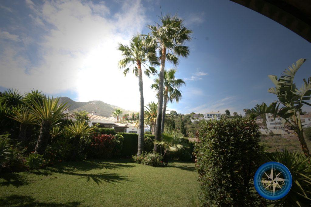 Villa Magica view to mountains